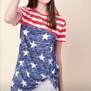 Tops - Stars and Stripe Tee